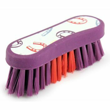 Bentley Patterns Horseshoe Face Brush - PURPLE