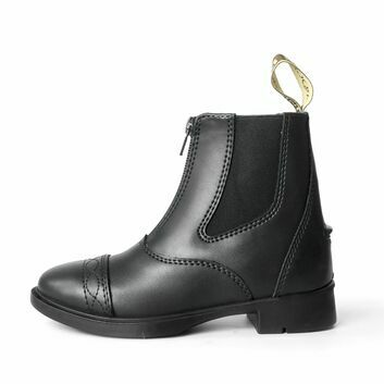Brogini Tivoli Piccino Zipped Boots Child Black
