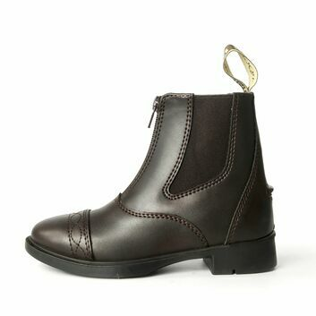 Brogini Tivoli Piccino Zipped Boots Child Brown