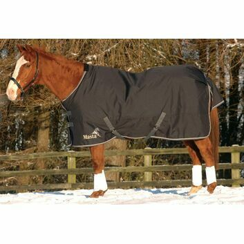 Masta Turnout Rug Avante 340g Std Neck Graphite