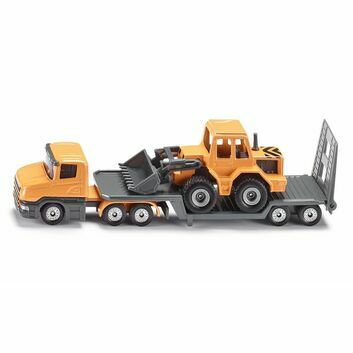 Siku Low Loader with Front Loader 1:87