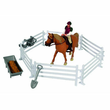 Kidsglobe Horse, Rider and Accessories