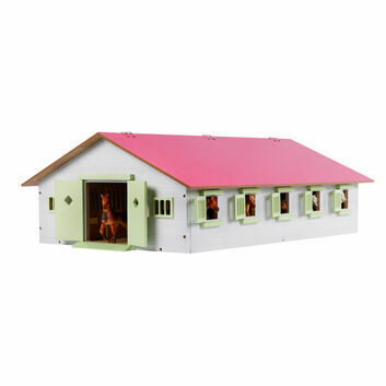 Kidsglobe Horse Stable with 9 Boxes 1:32