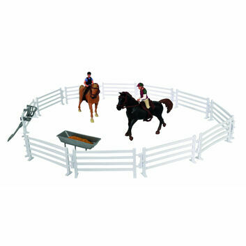 Kidsglobe 2 Horses, Riders and Accessories