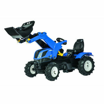 Rolly Toys Rolly Farmtrac New Holland Ride-On + Loader