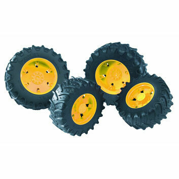 Bruder Twin Tyres with Yellow Rims 1:16