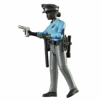 Bruder Black Policewoman with Accessories 1:16