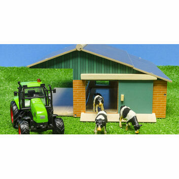 Kidsglobe Farm Set Cow Stable 1:50