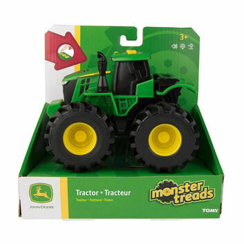 Britains John Deere Tractor with Monster Tread, Light and Sounds