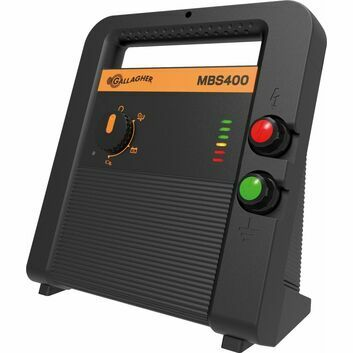 Gallagher MBS400 Mains Battery Solar Fence Energiser