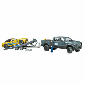 Bruder RAM 2500 Power Wagon and Roadster Racing Team 1:16
