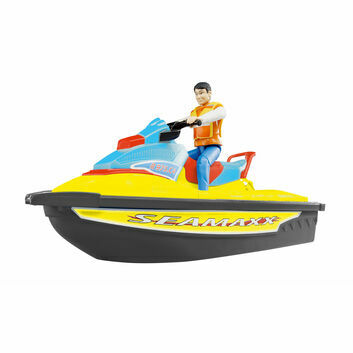 Bruder Water Craft with driver 1:16