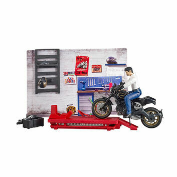 Bruder Motorcycle Service Set 1:16