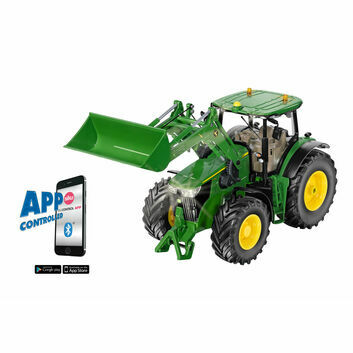 Siku John Deere 7310R with Front Loader Bluetooth App Remote Control 1:32
