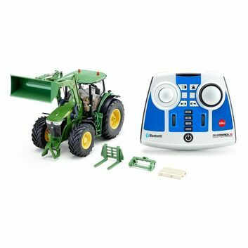 Siku Control 32 John Deere 7310R with Front Loader and Bluetooth Remote Control 1:32