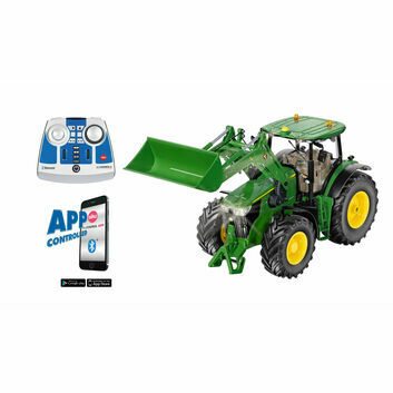 Siku John Deere 7310R with Front Loader and Bluetooth Remote Control