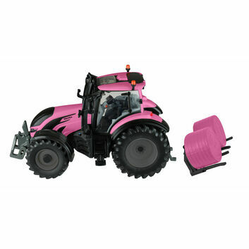 Britains Valtra Pink Tractor Play Set 1:32