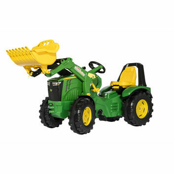 Rolly X-Trac Premium John Deere 8400R Ride-On Tractor + Loader