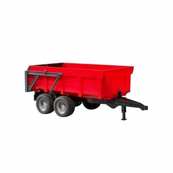 Bruder Tipping trailer red 1:16