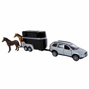 Kidsglobe Volvo XC90 with Horse Trailer