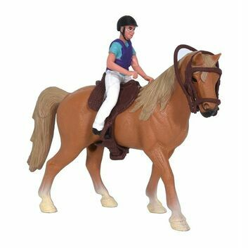 Kidsglobe Horse with rider