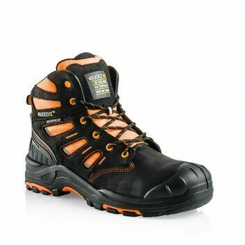 Buckler Boots Buckz Viz BVIZ2  Safety Lace Boot - Orange/Black