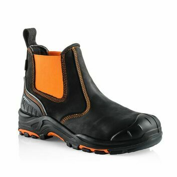 Buckler Boots Buckz Viz BVIZ3 Safety Dealer Boot - Orange/Black