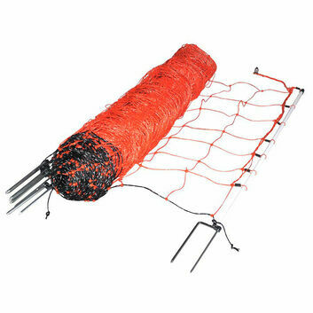 Gallagher EuroNetz Sheep netting, Orange 90/2-14/W-50m