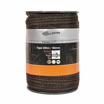 Gallagher PowerLine tape 40mm Terra 200m