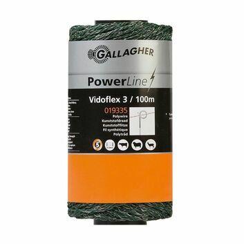 Gallagher Vidoflex 3 PowerLine Green 100m