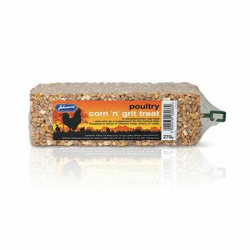 Johnson\'S Veterinary Poultry Corn \'N\' Grit Treat