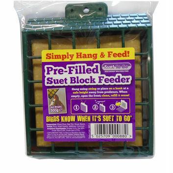 Suet To Go Pre-Filled Suet Block Feeder