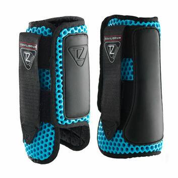 Equilibrium Tri-Zone Impact Sports Boots Blue