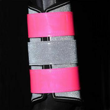 Equisafety Mercury Diamond Brushing Boots Pink