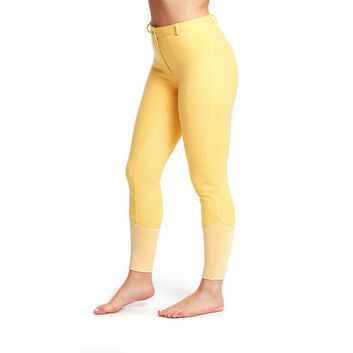 Harry Hall Breeches Chester Sticky Bum Ii Ladies Canary