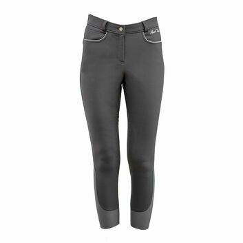 Mark Todd Breeches Tornio Winter Ladies Grey/Silver