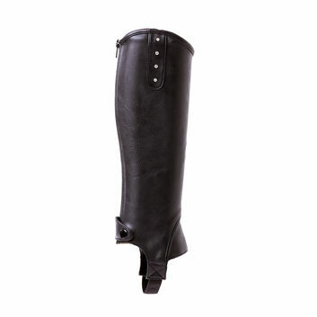 Mark Todd Toddy Half Chaps Synthetic Diamante Child Black
