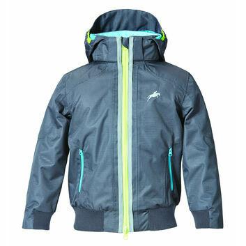 Harry Hall Jacket Hartland Waterproof Junior Dark Grey