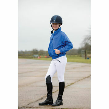 Mark Todd Blouson Jacket Fleece Lined Child Royal