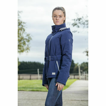 Mark Todd Jacket Waterproof Short Ladies Navy
