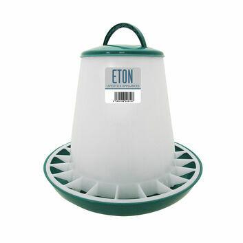 Eton Tsf Plastic Poultry Feeder Green