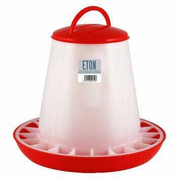 Eton Tsf Plastic Poultry Feeder Red