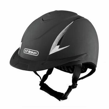 Whitaker Nrg Riding Helmet Black/Silver