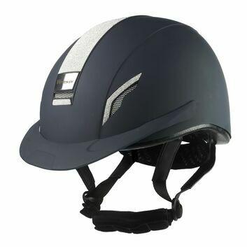 Whitaker Vx2 Sparkly Riding Helmet Navy