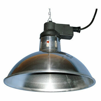 Intelec Traditional Infra-Red Lamp 11.75 Inch Shade