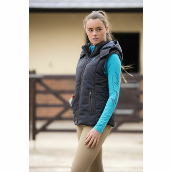 Mark Todd Gilet Winter Padded Ladies Black