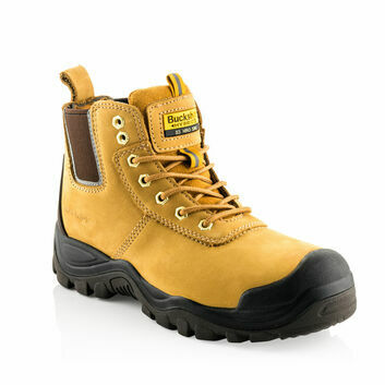 Buckler BHYB2HY Hybridz S3 Safety Lace/Dealer Boots - Honey Nubuck