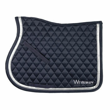 Whitaker Saddle Pad Thornton Navy/Silver