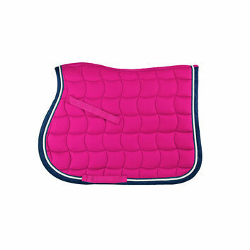 Whitaker Saddle Pad Upton Colourful Fuschia