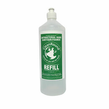 Cleanround Safe Hands Sanitiser And Foamer